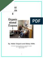 organizatinal proposal