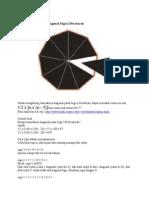 Rumus Menghitung Diagonal Segi