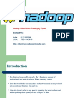 Hadoop Onling Training at Low Cost
