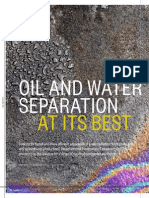 In Depth Oil and Water Separation