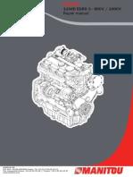 Manual Motor Perkins 1104D Euro 3.