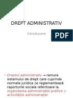 1 Introducere in Dreptul Administrativ