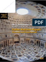 Italian National Report – Research and Construction
