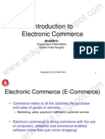 Lecture 1 (Introduction to E-Commerce)