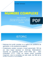 Numere Complexe