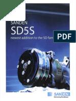 Sanden Singapore SD5 Series Compressor Catalogue