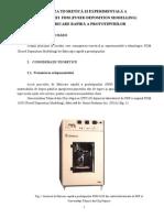 Sistemul de Fabricare FDM