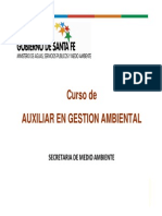 Curso de Auxiliar de Gestion Ambiental