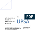 Doc Diseño y Administración de Redes