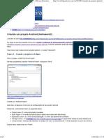 Criando Um Projeto Android (Helloworld!) Felipe Silveira Fala Sobre Android, Java e Desenvolvimento de Software Em Geral