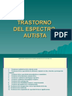 Trastorno Del Espectro Autista. Clasificaciones