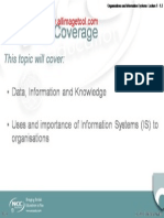 ISO - Lecture 01 - Organisations and Information Systems_1 2