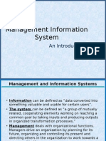MIS Management Information System
