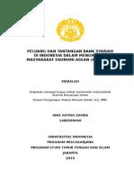 Makalah Peluang Dan Tantangan Bank Syariah Jelang MEA 2015
