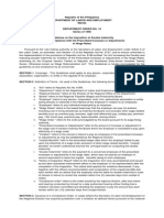 DO 10, Series of 1998 - Guidelines on the Imposition of Double Indemnity for Non Compliance of the Prescribed Increases or Adjustments in Wage Rates