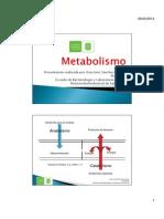 Metabolismo fúngico 2014