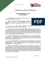 Decreto 5-06 -Código Aduaneiro