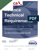 Avianca Technical Requirements - Final