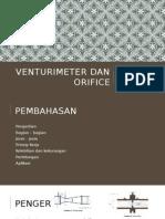 Venturimeter Dan Orifice