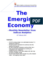 Emerging Economy February 2010 Indicus Analytics