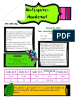 newsletter 24th may