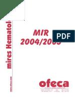 Hematologia Preguntas 1 2004-2005