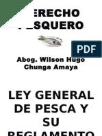 Derecho Pesquero - Ley General y su Reglamento