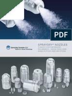 B695 SprayDry Nozzles