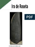 A Pedra de Roseta