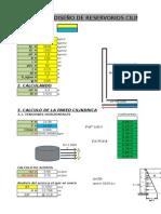 Diseño Reservorio