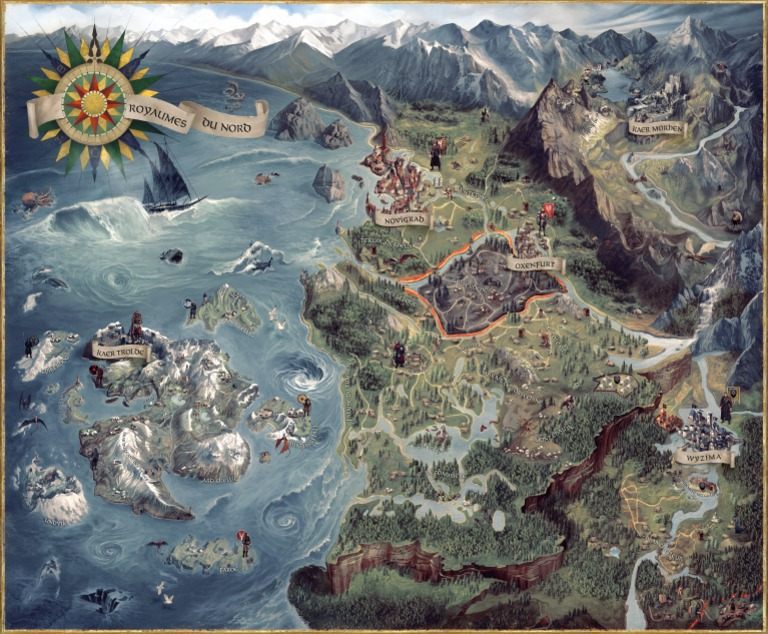 The witcher 3 wild hunt world mappdf gumiabroncs Image collections