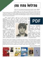 Galegas nas Letras. M. Victoria Moreno