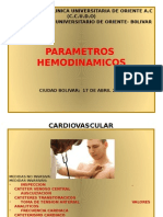 Parametro Hemodinamico Powerpoint