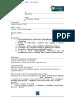 Unidade Curricular - Ficha de Inovação e Empreendedorismo Ricardo Moreira
