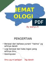 Pp Hematologi