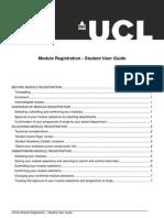 Module Registration Student Userguide