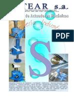 Catálogo de Actuadores Mecánicos