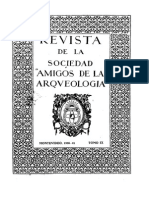 """Revista de la Sociedad """"amigos de la arqueología"""""""