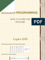 Boolean Programming