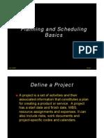 Planning and S h d Li Pl