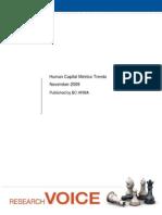 Hc Metrics Trends 09