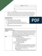 fraction lesson plan