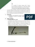 Informe de planimetro
