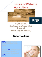 Water Scenario in Punjab (India)