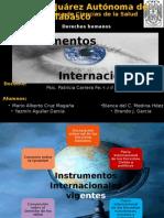 Instrumentos Internacionales. Vigentes