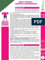3ciclo Unidad Juegos Deportes Alternativos Contemporaneos
