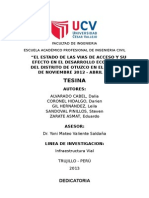 Tesina 2013 Presentacion Final Ucv