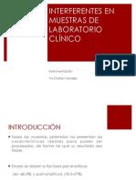 Interferentes Muestras Laboratorio (1)