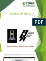 Models of Quality