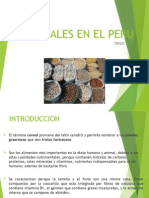 Cereales en El Peru